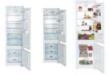 Сравнение  лучших двухкамерных встраиваемых холодильников Liebherr