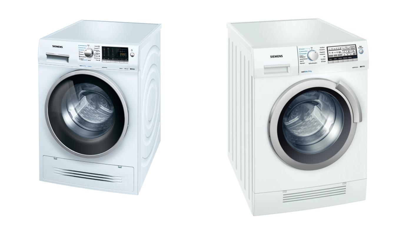 Советы по выбору лучших моделей стиральных машин с сушкой Siemens