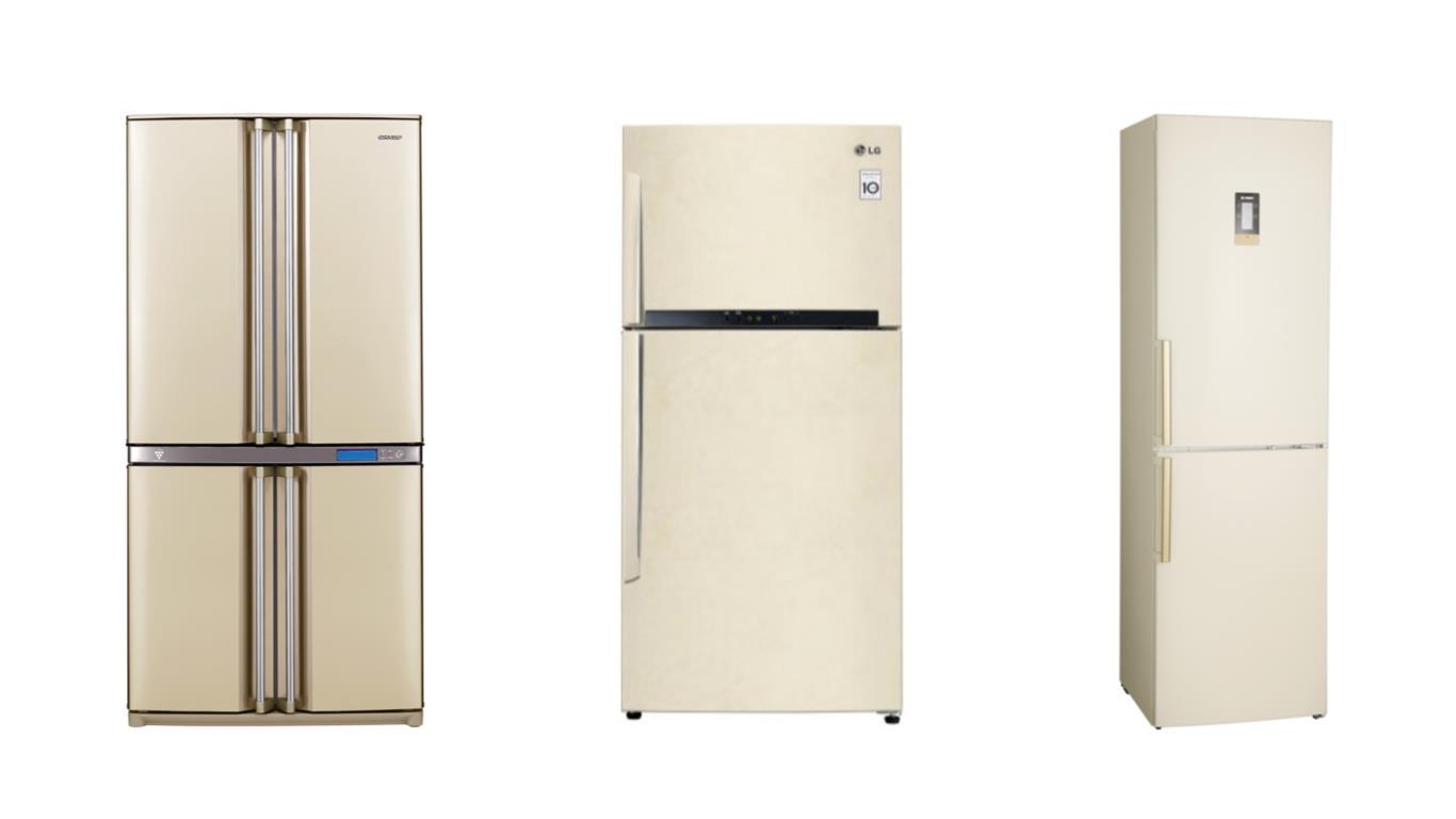 ТОП 3 лучших моделей бежевых холодильников с зоной свежести