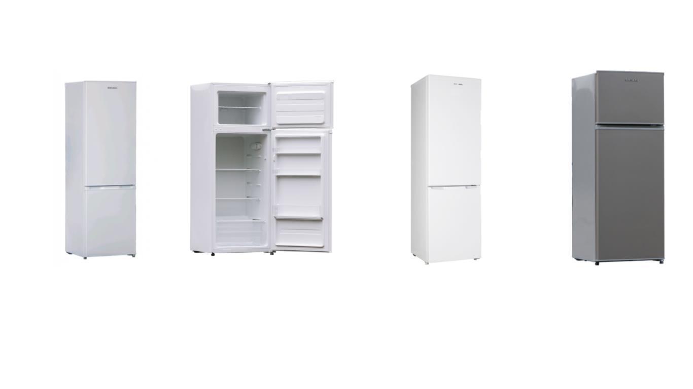 Сравнение лучших моделей двухкамерных холодильников шириной 55