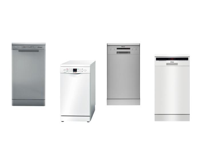 Секреты выбора лучших отдельно стоящих посудомоечных машин шириной 45 см