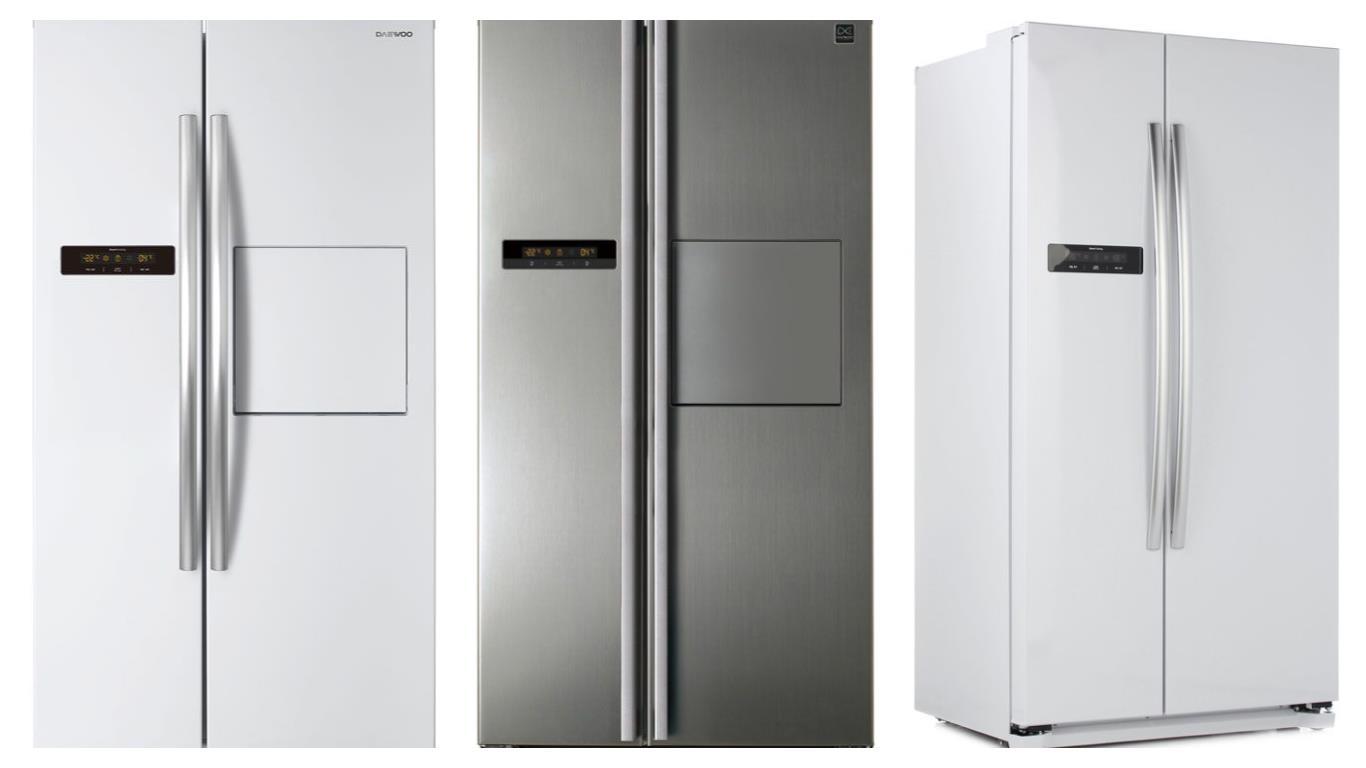 Сравнение лучших моделей холодильников Daewoo Side-by-side