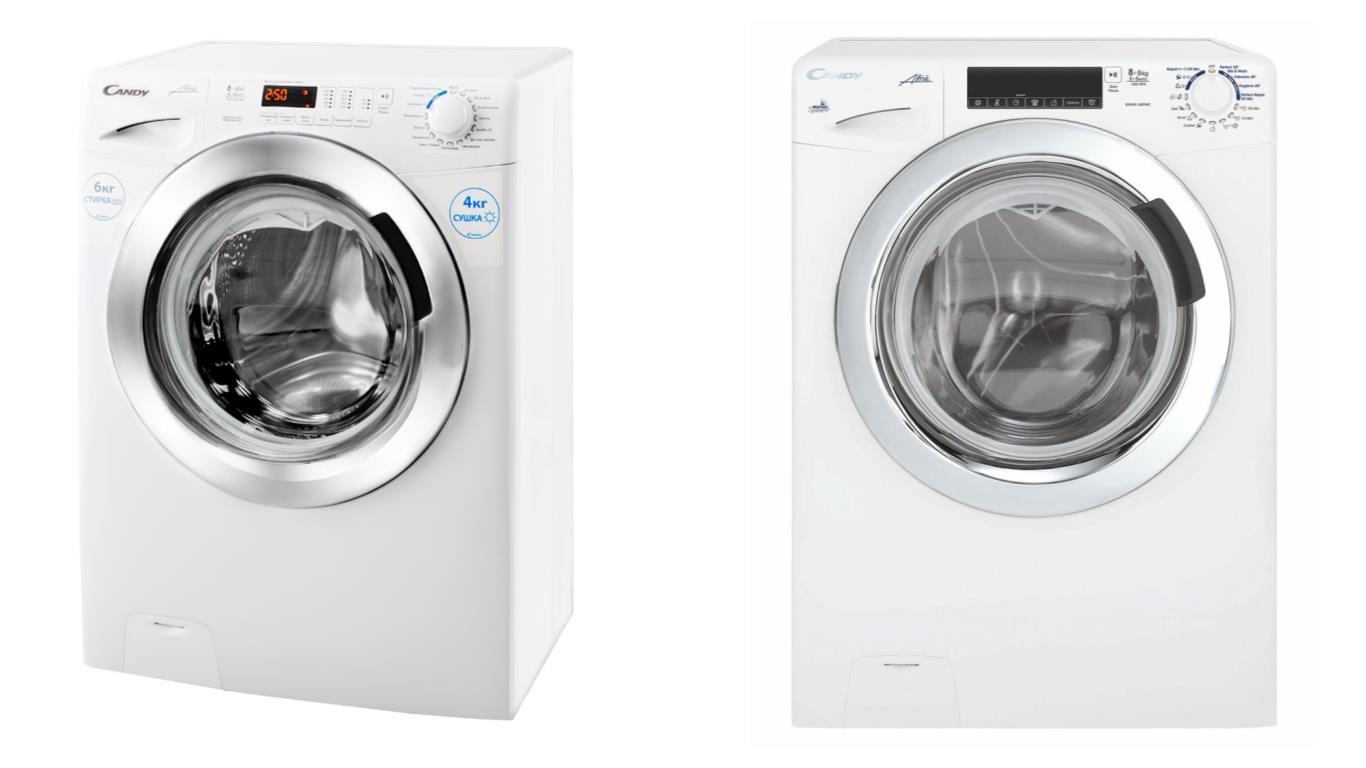 Особенности выбора лучших моделей стиральных машин Candy с сушкой