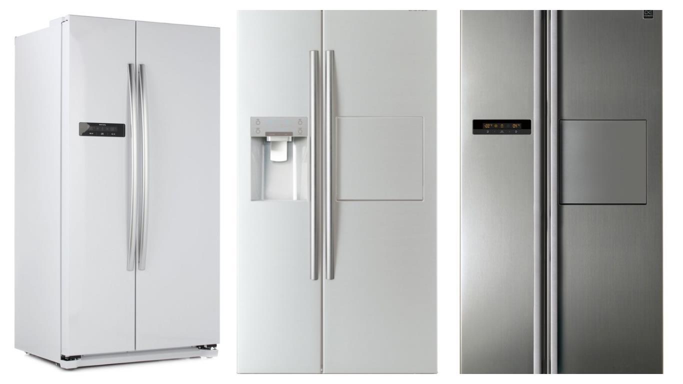 Zweitürigen Kühlschrank mit Gefrierfach