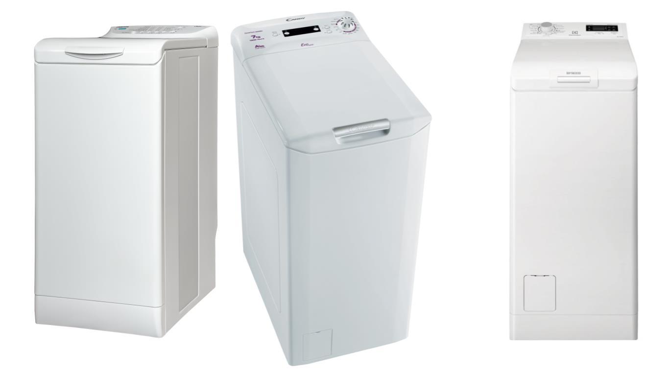 ТОП 3 лучших вертикальных стиральных машин