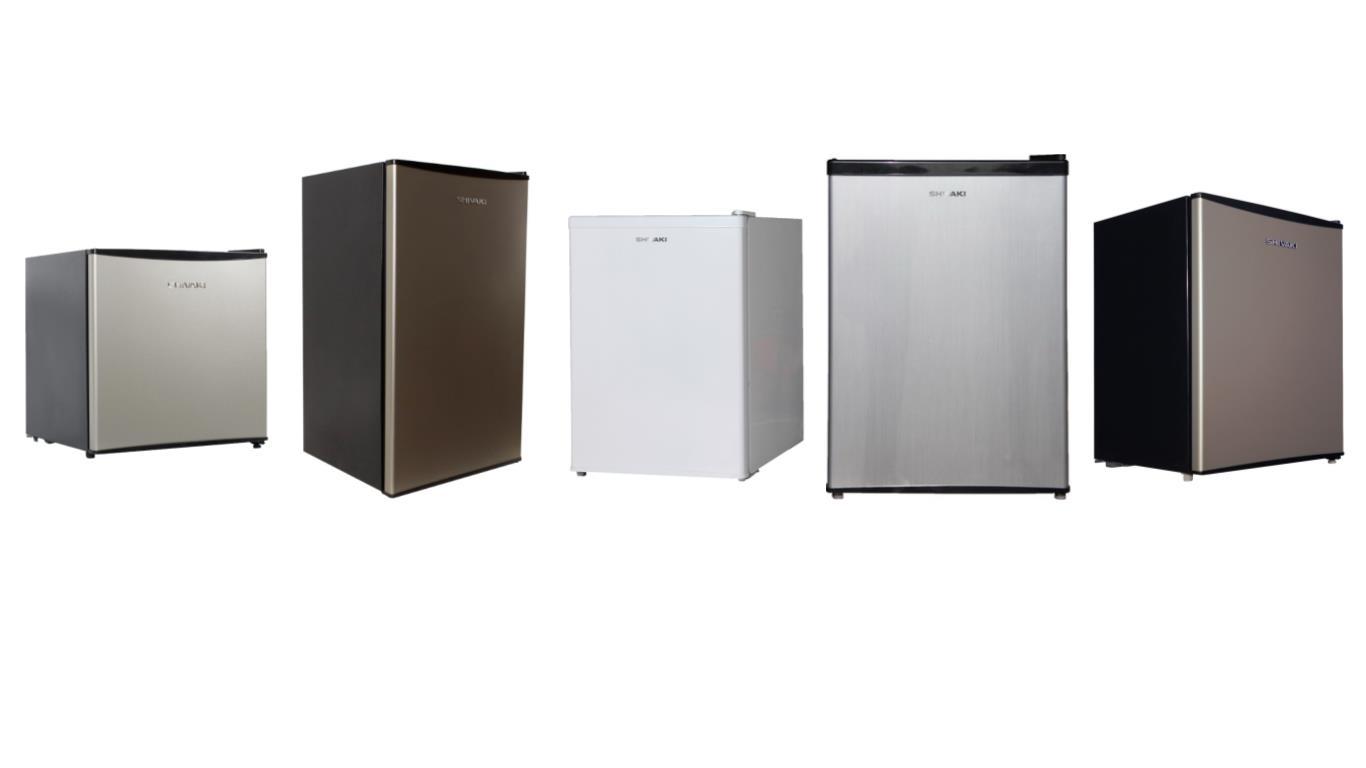 Обзор лучших моделей маленьких холодильников Shivaki