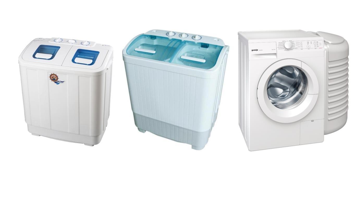 Топ 3 лучших мини стиральных машин для дачи с отжимом