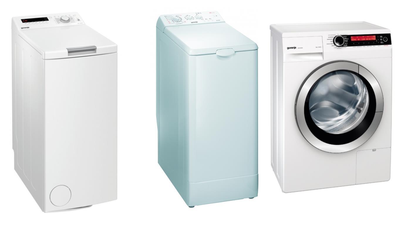Особенности выбора лучших моделей узких стиральных машин Gorenje