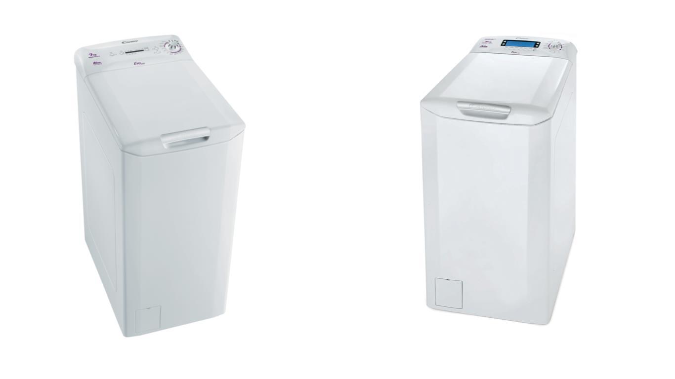Сравнение лучших моделей узких вертикальных стиральных машин Candy
