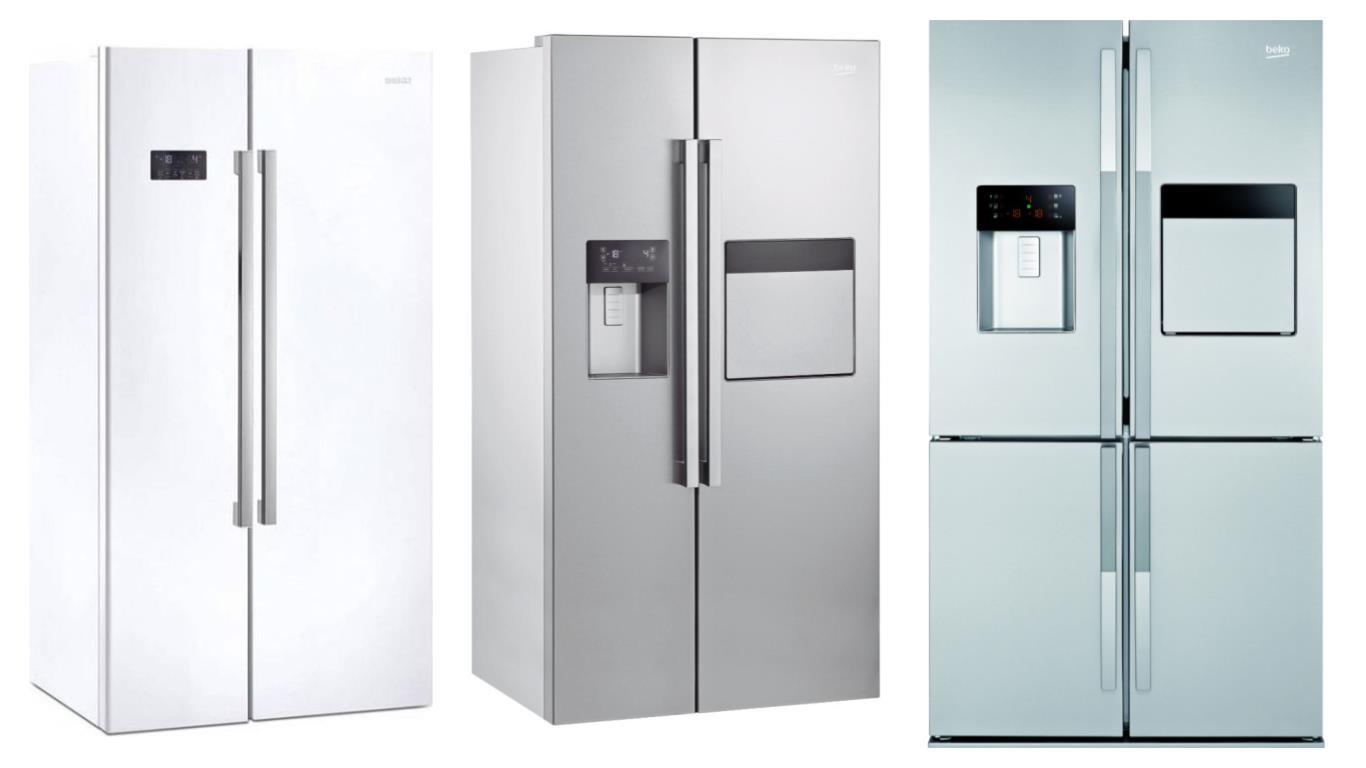 Секреты выбора лучших моделей холодильников BEKO side-by-side