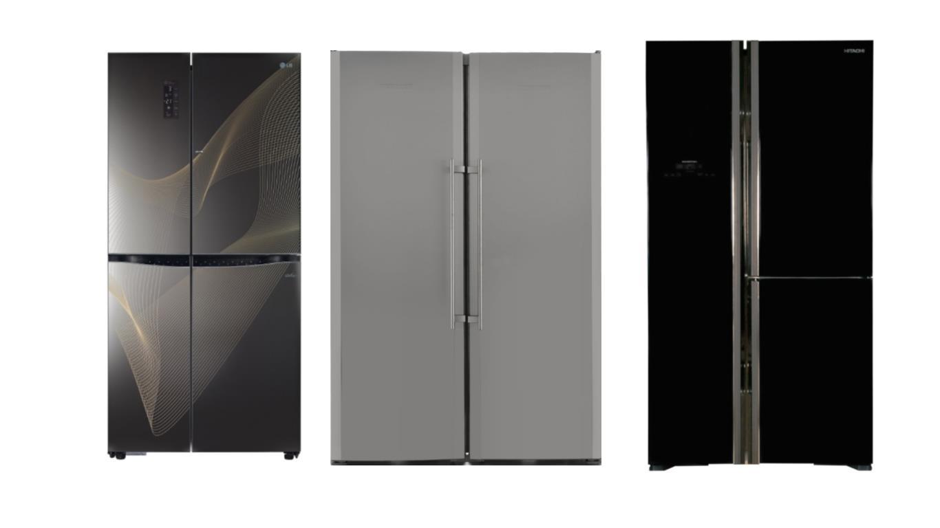 Особенности выбора лучших моделей больших двухдверных холодильников