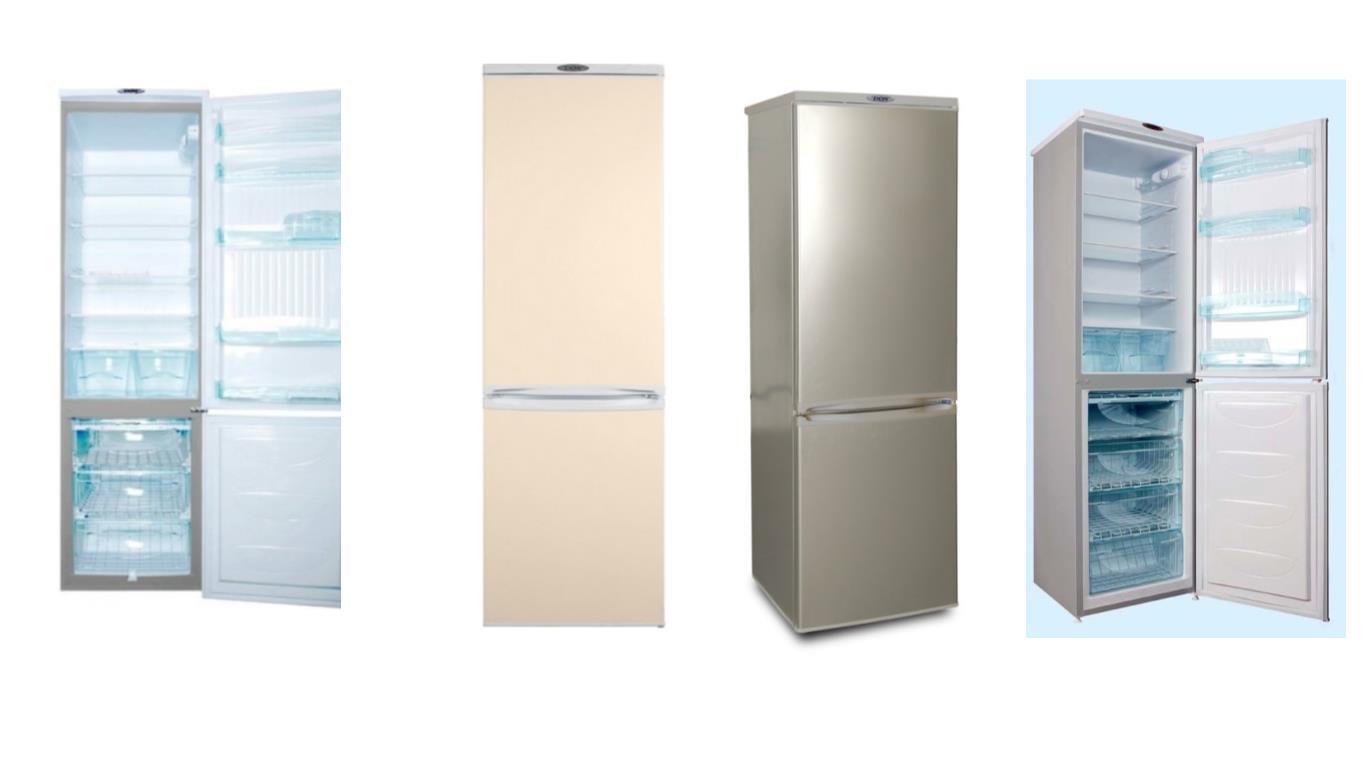 Сравнение лучших моделей двухкамерных холодильников DON