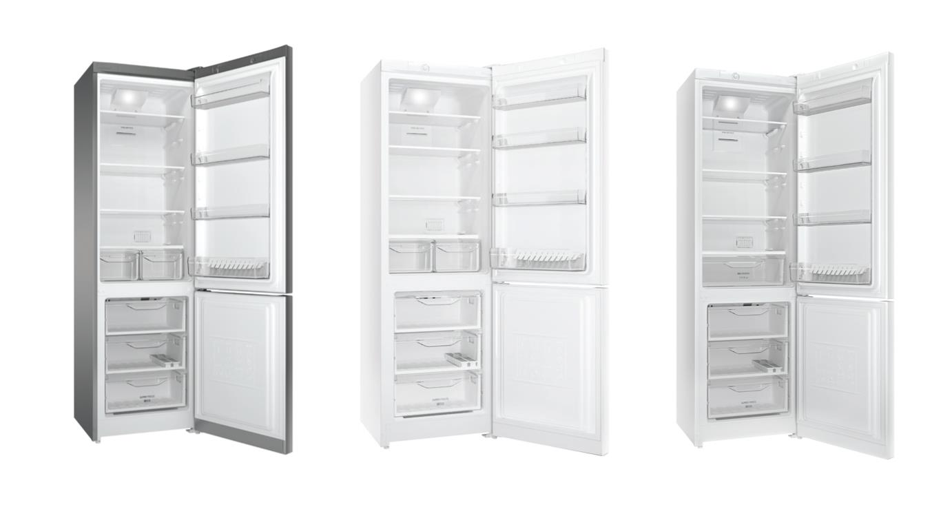 Обзор лучших двухкамерных холодильников Indesit