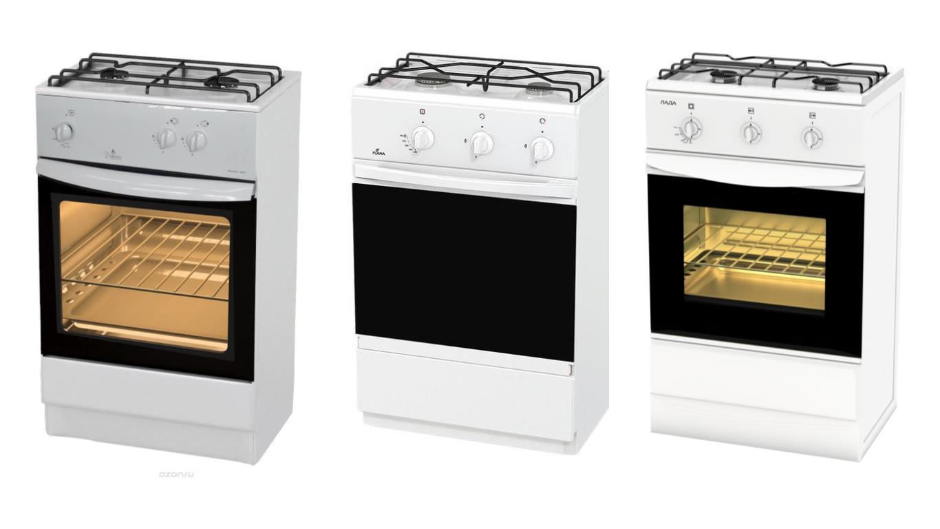поговорим обо трехкомфорочная газовая плита с духовкой все основные функции