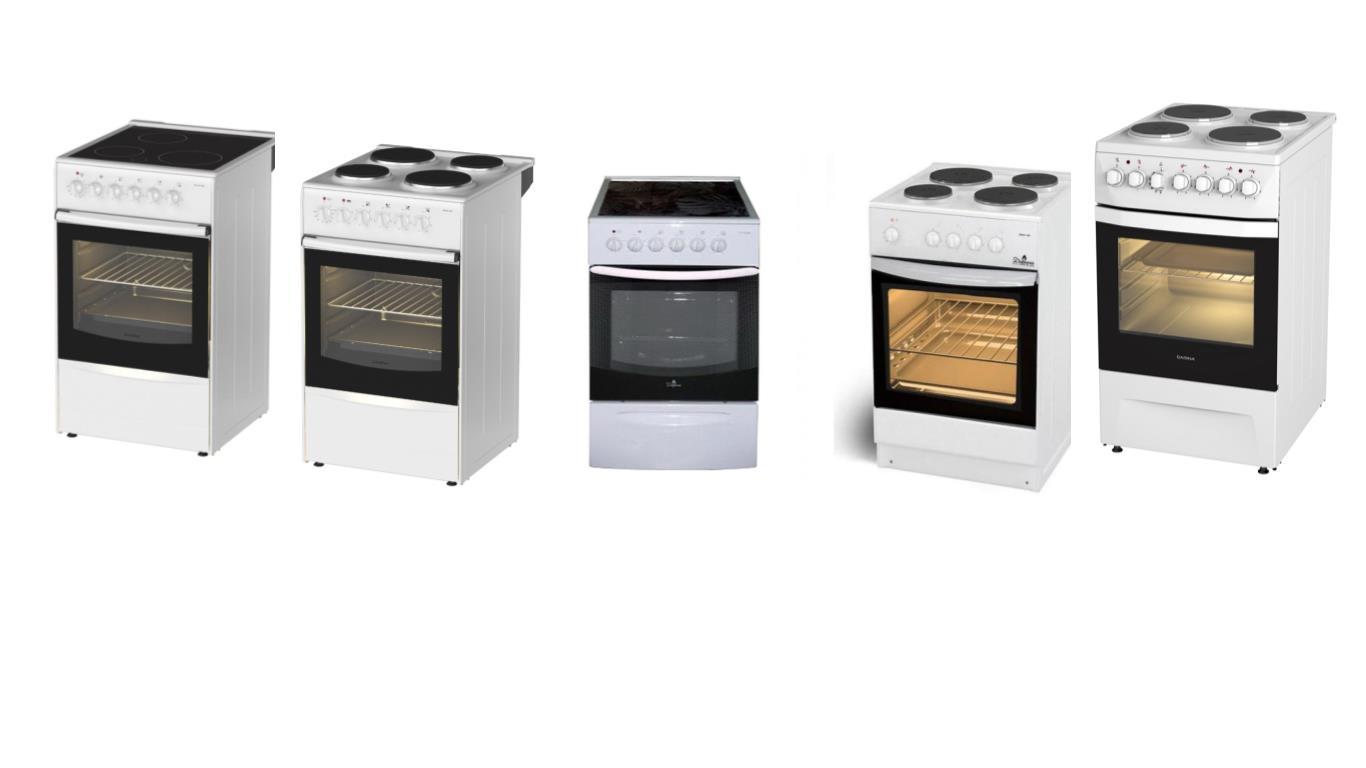 ТОП 5 лучших моделей электрических плит Дарина