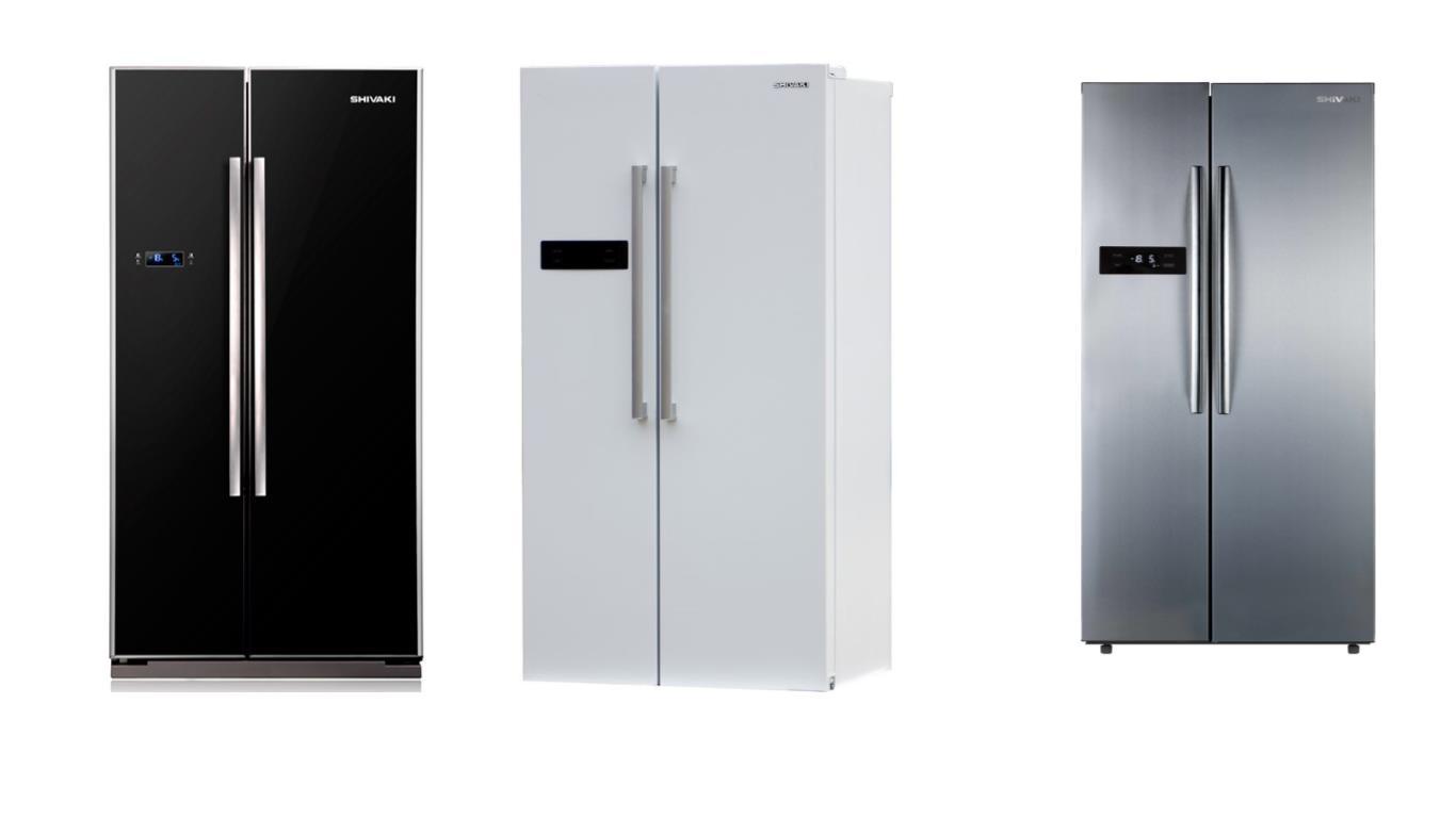 Советы по выбору лучших моделей холодильников side-by-side Shivaki