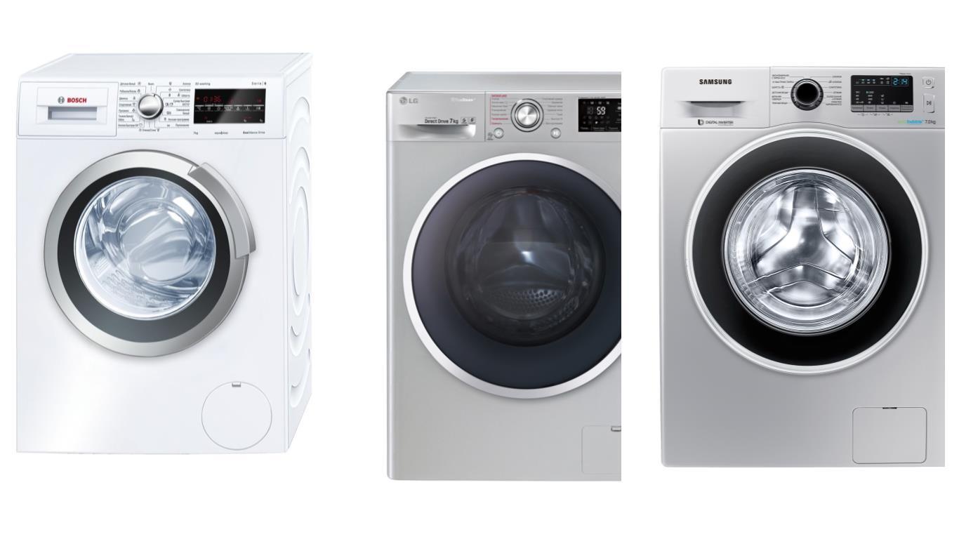 Обзор лучших моделей узких стиральных машин загрузкой 7 кг