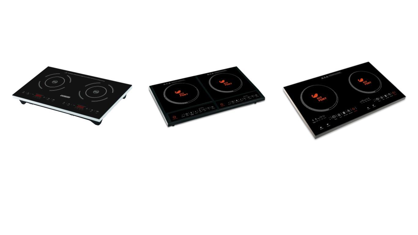 Обзор лучших двухконфорочных индукционных плит