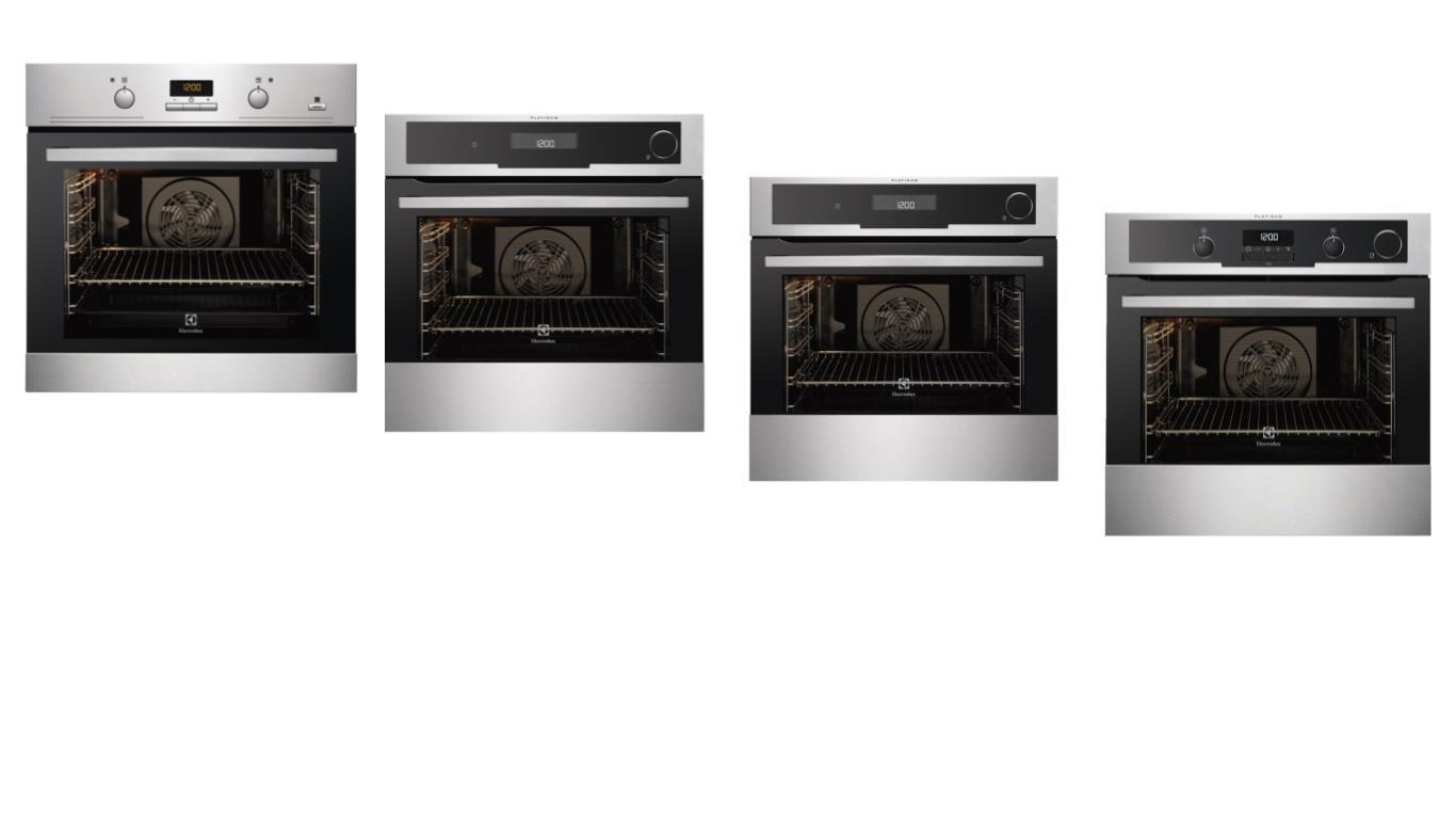 ТОП 4 лучших моделей духовых шкафов Electrolux с паром