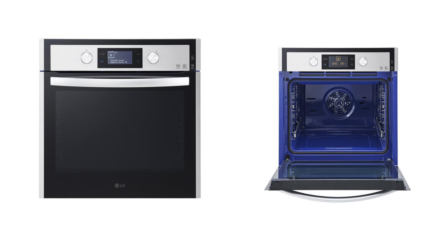 Особенности выбора лучших электрических духовых шкафов LG