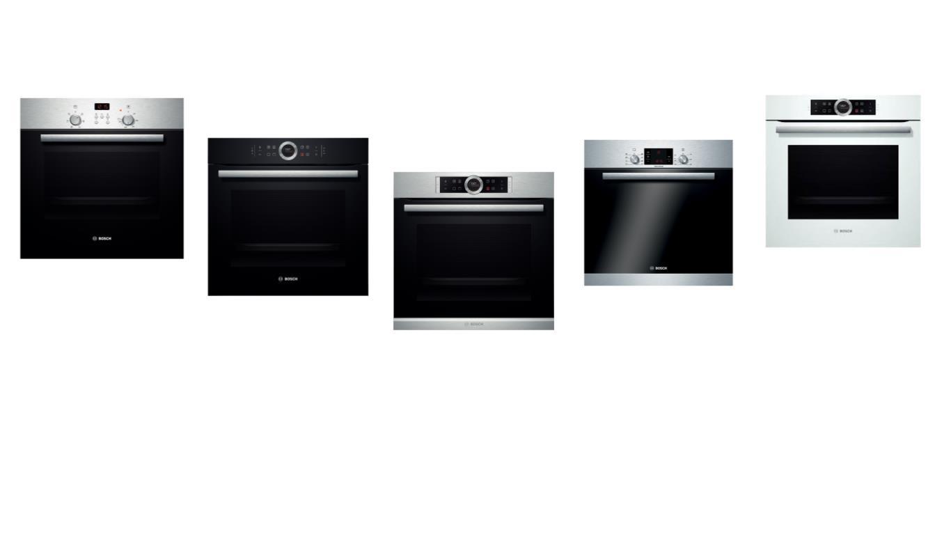 Особенности выбора лучших газовых духовых шкафов Bosch