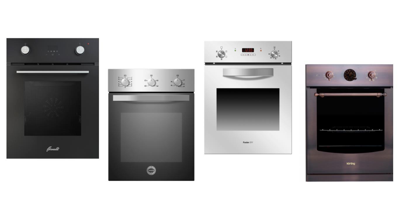 ТОП 4 лучших моделей узких электрических духовых шкафов