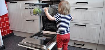 узкие посудомойки