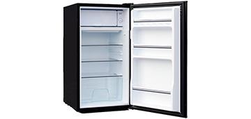 Однокамерный холодильник с морозильной камерой Tesler RC-95 Black