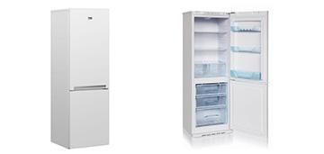 Холодильник с нижней морозильной камерой BEKO RCNK270K20W