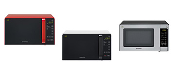 Обзор бюджетных микроволновок Daewoo Electronics KQG-663R, KQG-663B, KQG-664B