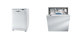 Обзор встраиваемых посудомоечных машин Indesit DISR57 H96Z, Indesit DIFP 8B+96Z