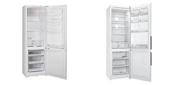 Обзор функциональных вместительных холодильников Indesit ES18, Indesit ES20
