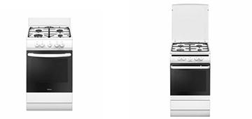 Сравнение бюджетных газовых плит Hansa FCGW52021, Hansa FCMW54121