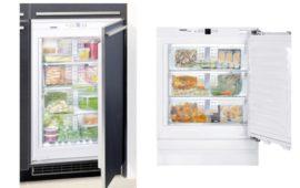 Обзор двух лучших моделей встраиваемых морозильников Liebherr