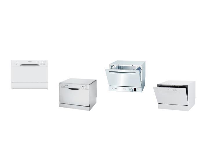 Обзор лучших моделей маленьких настольных посудомоечных машин с Aquastop