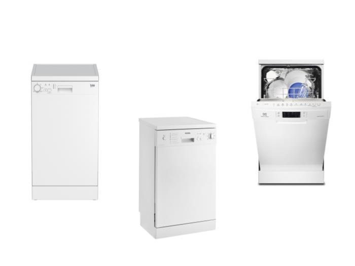 Топ 3 лучших посудомоечных машин 45 см