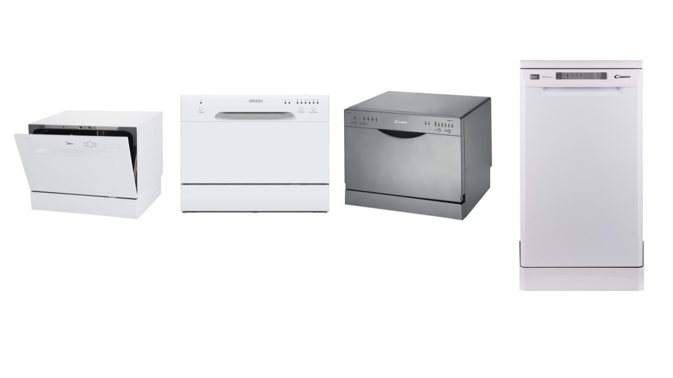 Обзор лучших моделей дешевых посудомоечных машин