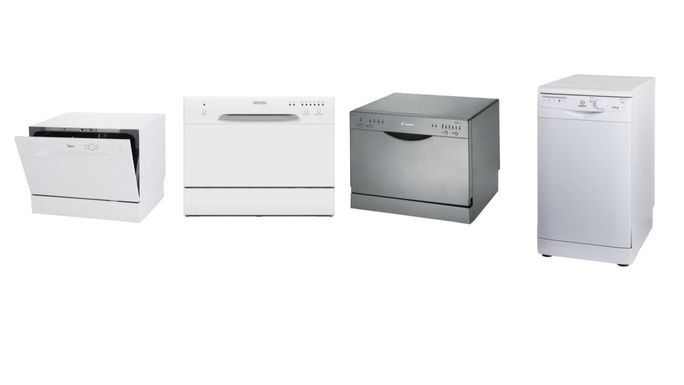 ТОП 4 лучших моделей самых дешевых посудомоечных машин