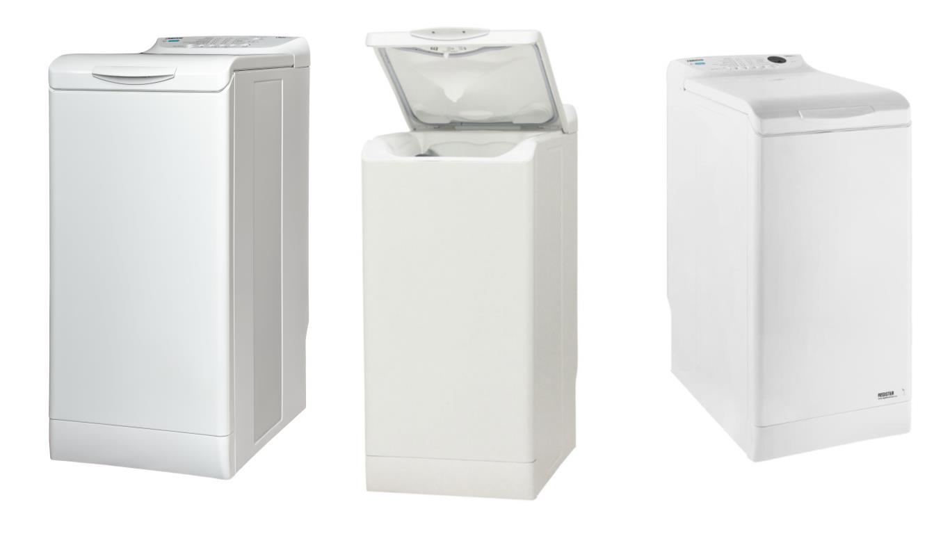Сравнение лучших моделей вертикальных стиральных машин Zanussi