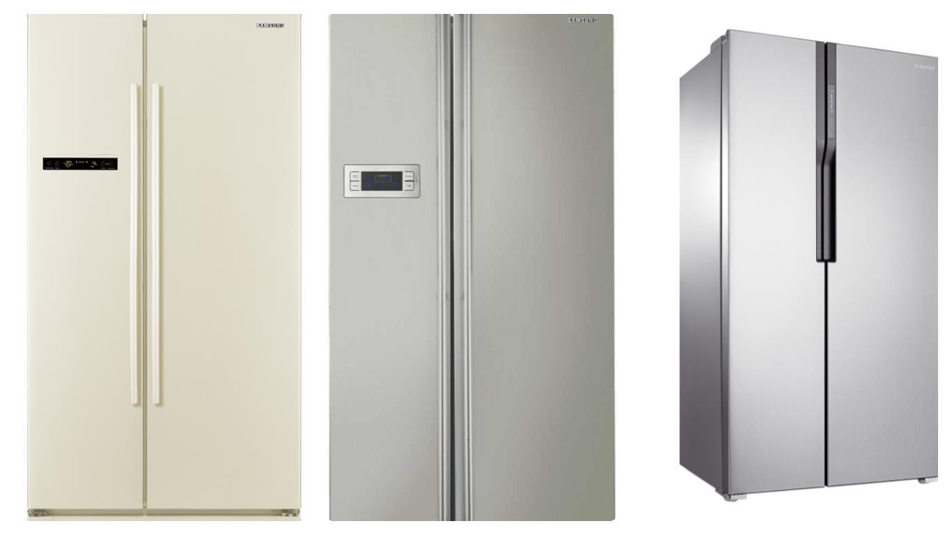 Обзор лучших моделей холодильников Samsung Side-by-side