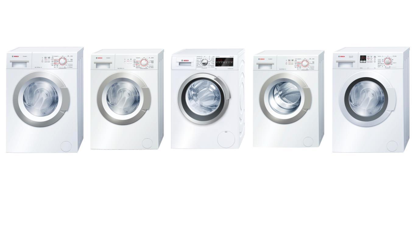 Советы по выбору лучших моделей стиральных машин-автоматов Bosch