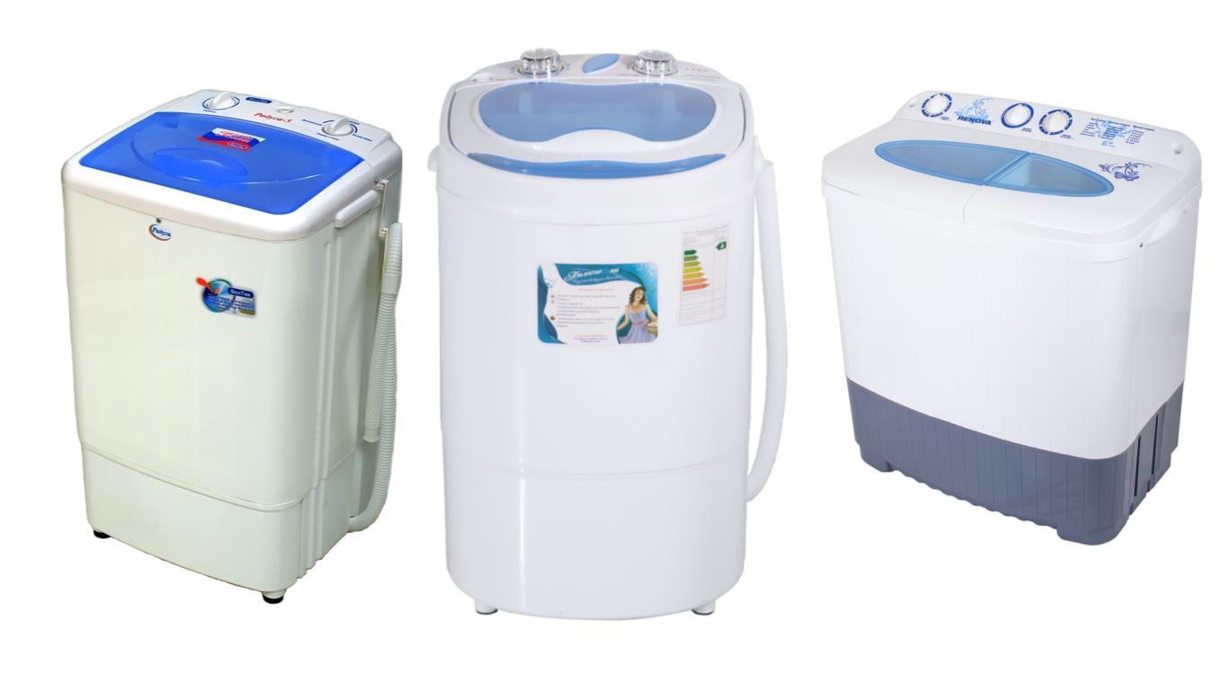 Обзор лучших моделей стиральных машин без водопровода