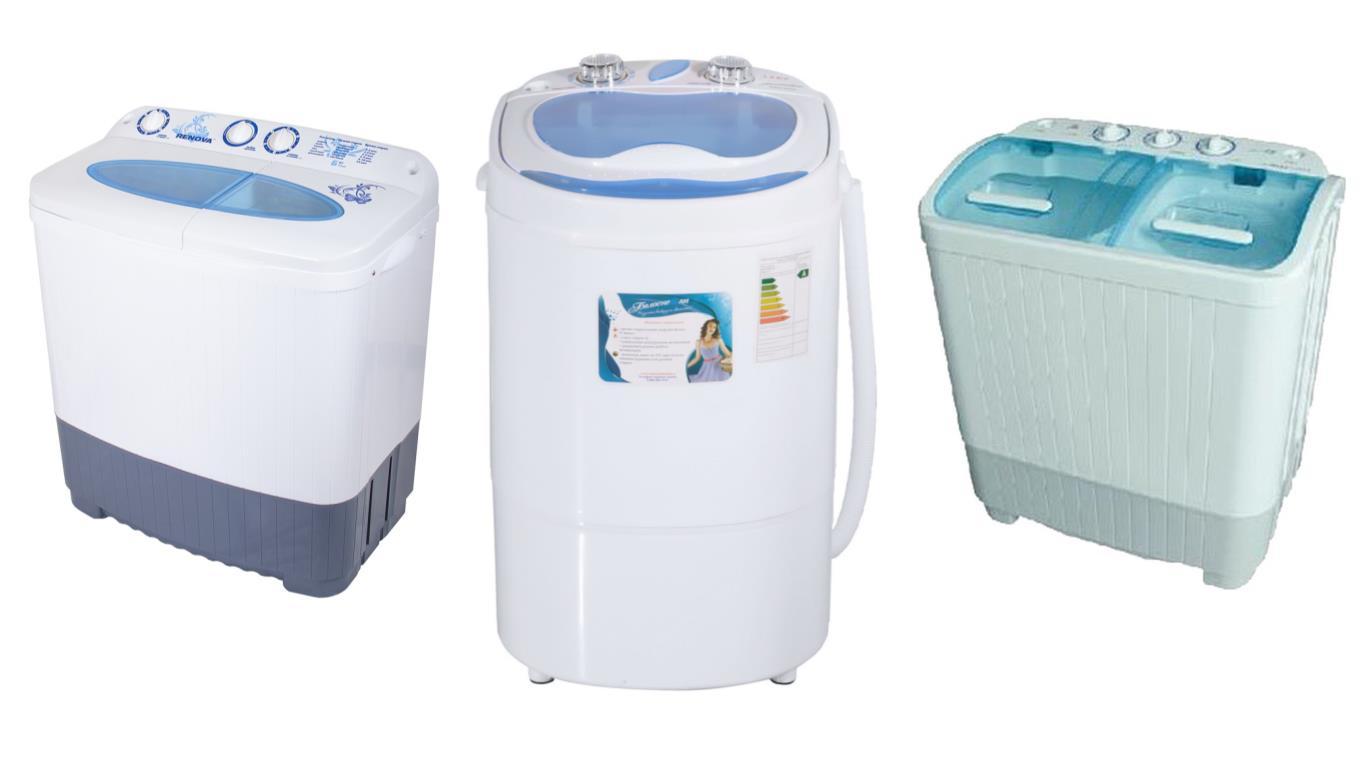 Сравнение лучших моделей дачных стиральных машин
