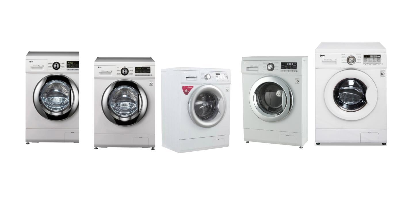 Обзор лучших моделей стиральных инверторных машин LG