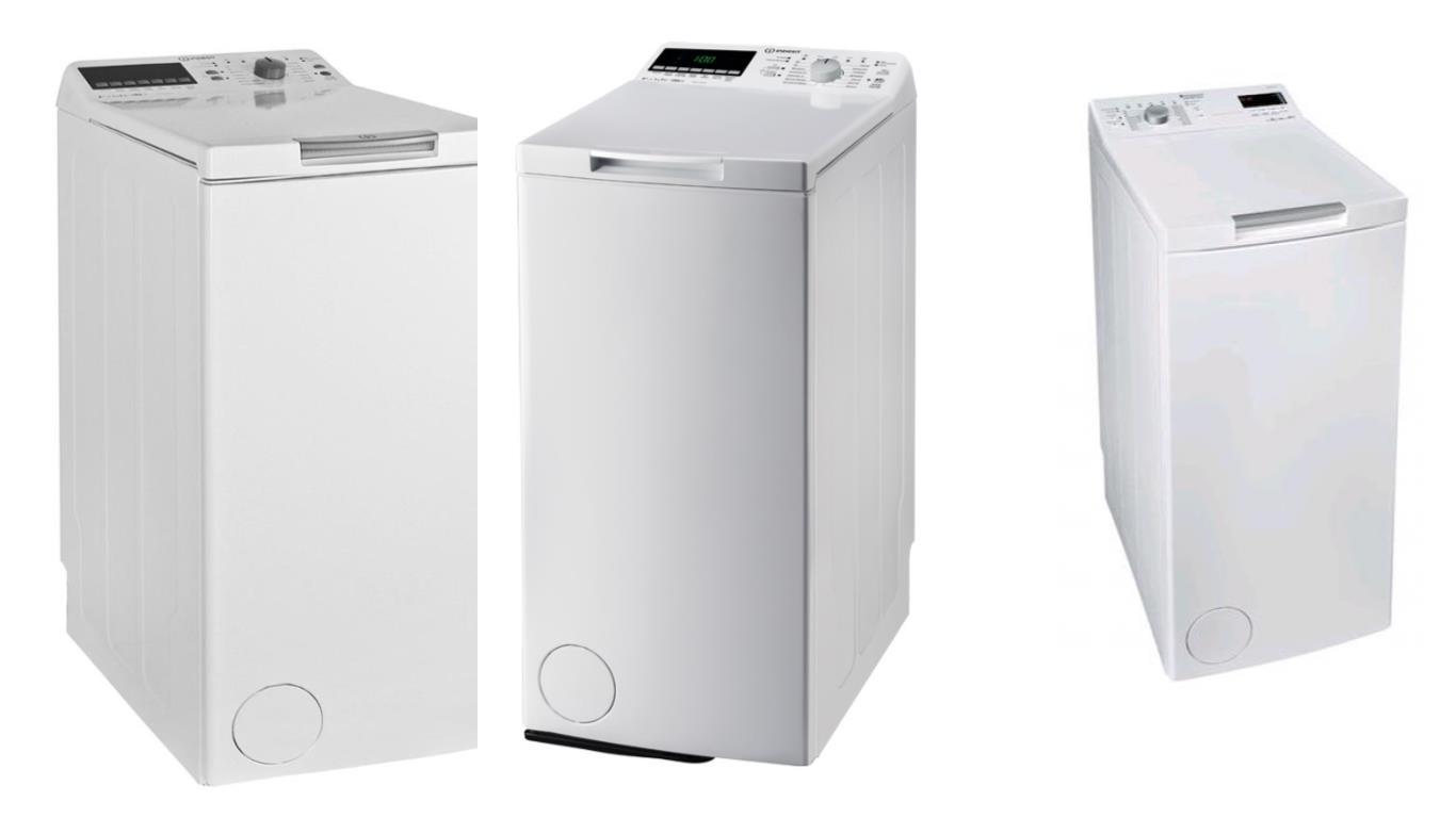 Топ 3 лучших моделей вертикальных стиральных машин Indesit