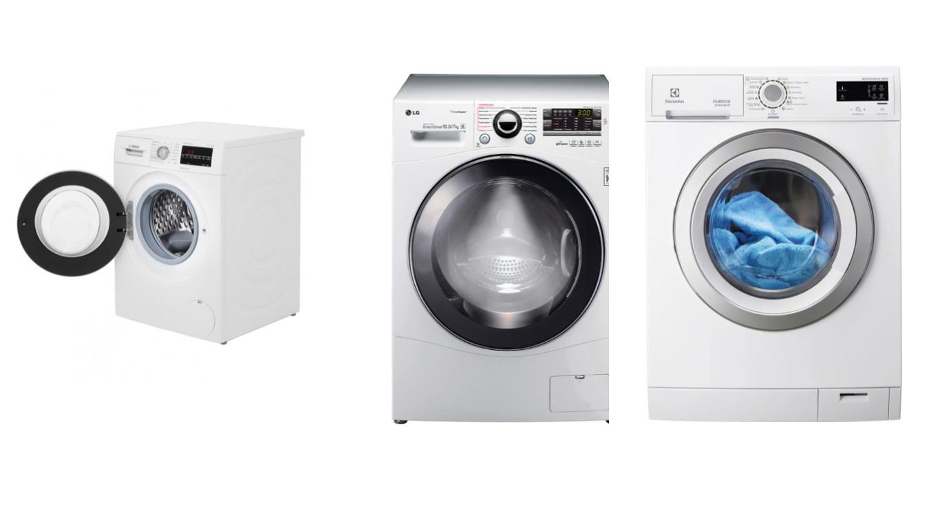 Особенности выбора лучших стиральных машин Bosch с сушкой и паром