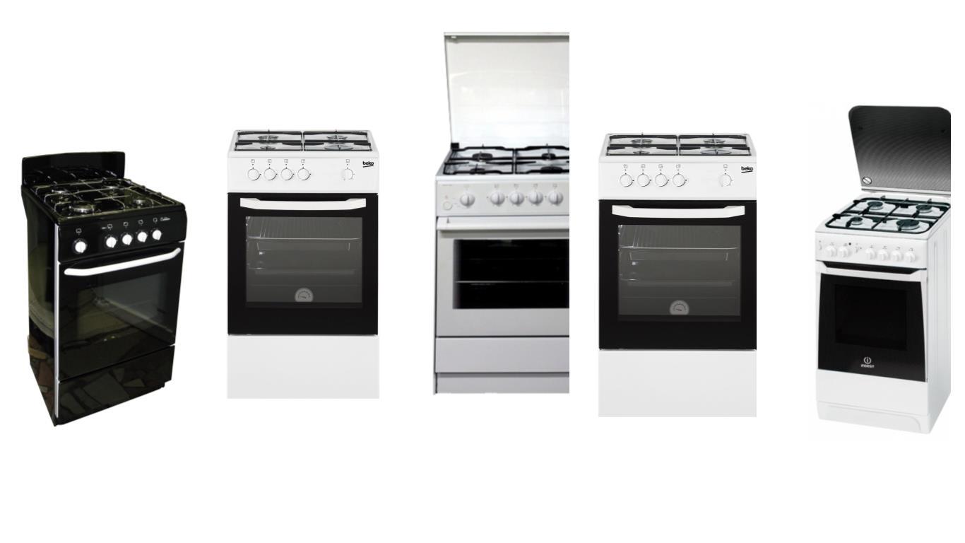 Особенности выбора лучшей газовой плиты 50 на 50 см