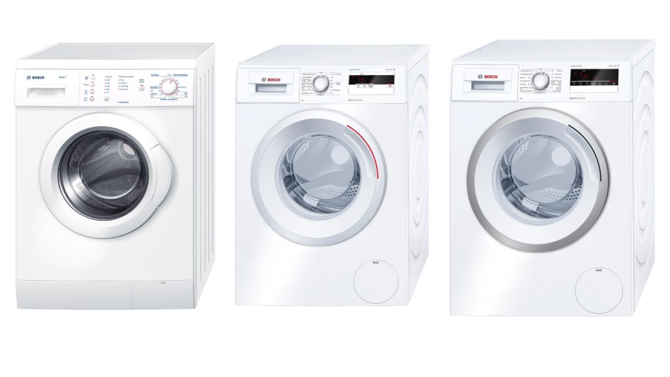 Обзор лучших инверторных стиральных машин Bosch