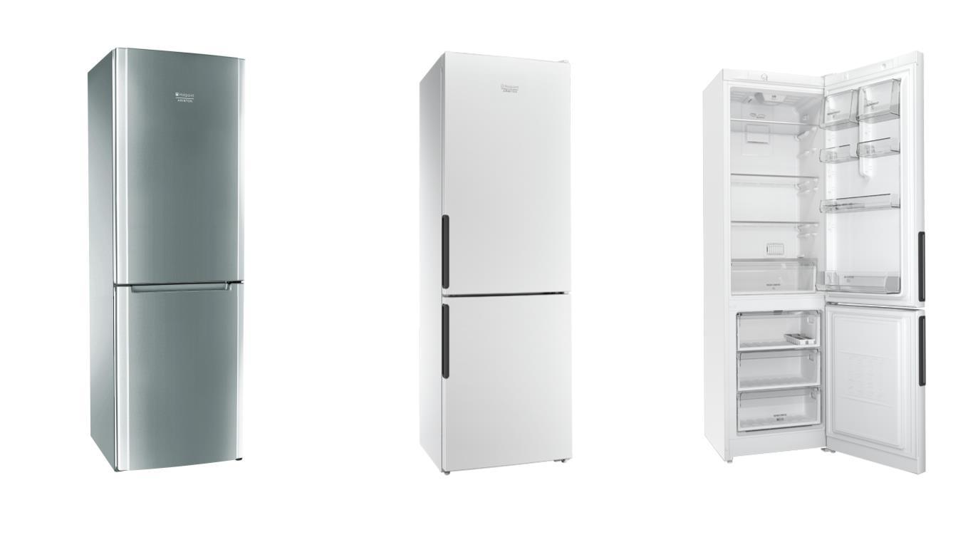 Сравнение лучших моделей холодильников Ariston с нижней морозильной камерой