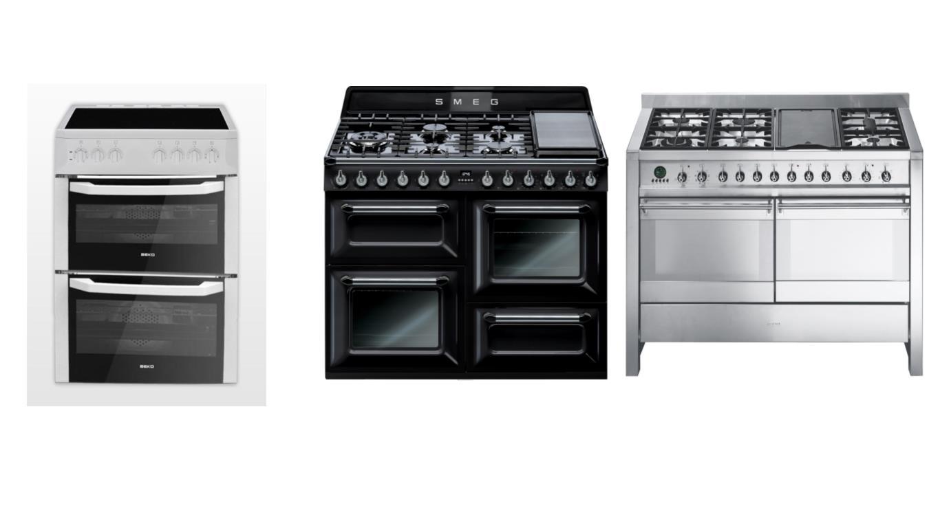 Обзор лучших плит с двумя большими духовками